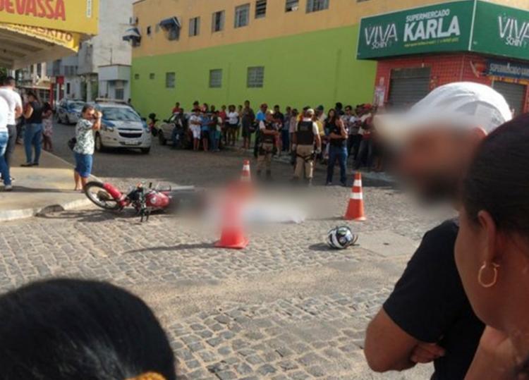 Acidente aconteceu no cruzamento do bairro Brasília - Foto: Reprodução | Blog do Anderson