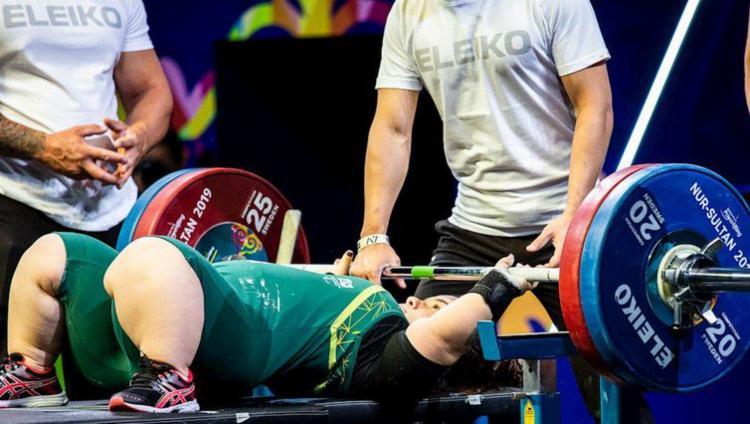 Mariana conseguiu levantar 120 kg e estabeleceu novo recorde das Américas - Foto: Ivo Felipe   Comitê Paralímpico Brasileiro