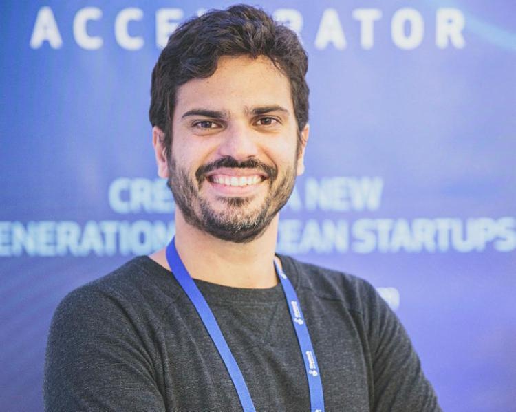 Bruno Balbi, CEO da startup i4sea - Foto: Dario Branco | Divulgação