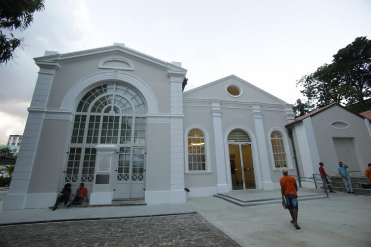 O prédio que abriga a nova sede do projeto é de 1852 - Foto: Raphaël Müller   Ag. A TARDE