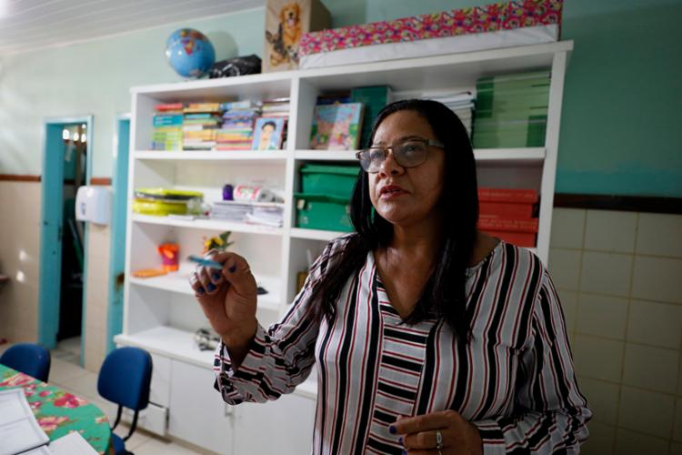 Zilda Santos relata esforços para melhorar o cenário