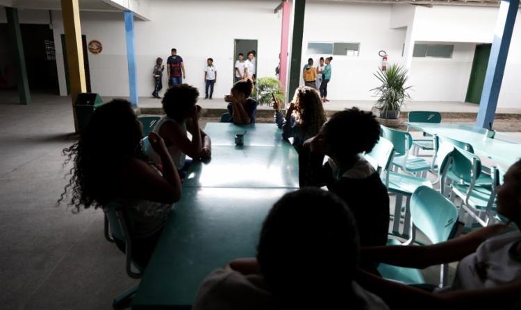 Intervalo na Escola Dr. João Duarte Guimarães - Foto: Joá Souza l Ag. A TARDE