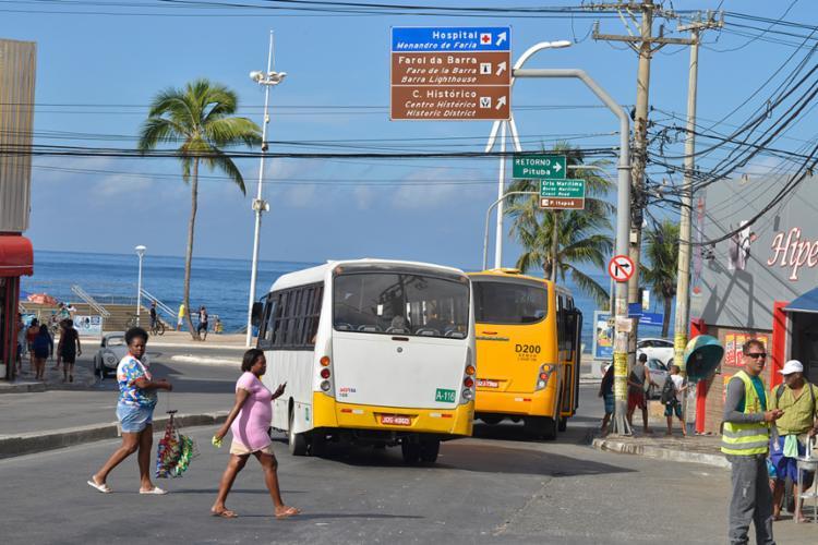 As linhas com destino a Baixa do Fiscal deverão prolongar seu itinerário até a Avenida Centenário - Foto: Shirley Stolze | Ag. A TARDE