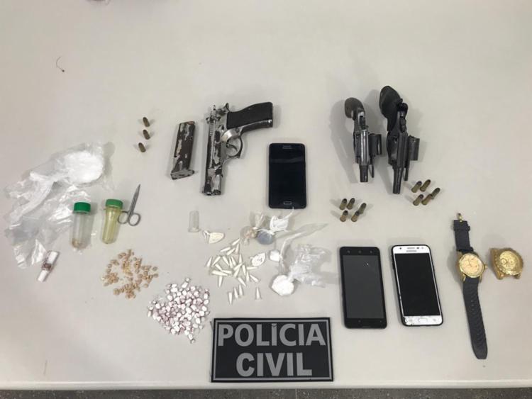 Ainda durante as diligências, dois adolescentes foram apreendidos - Foto: Divulgação | Polícia Civil