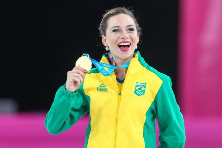 Bruna Wurts somou 103,17 pontos na apresentação - Foto: Divulgação I Secretaria Especial do Esporte