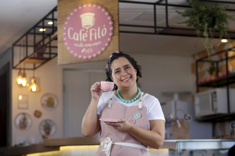 Patrícia Scardino apostou em marca e bottons para a empresa - Foto: Raul Spinassé l Ag. A TARDE