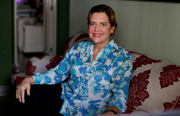 A baiana Luciana Rodrigues Silva é a primeira mulher a presidir a Sociedade Brasileira de Pediatria - Foto: Adilton Venegeroles   Ag. A TARDE