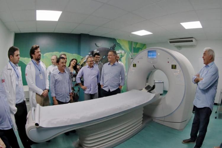 O novo equipamento de Saúde, que vai atender a mais de 500 mil habitantes, 18 especialidades, incluindo exames de alta complexidade, e consultas. - Foto: Divulgação