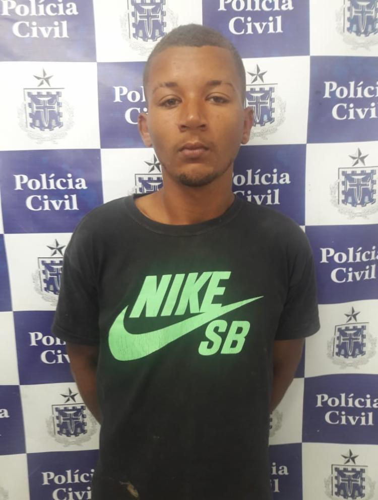 Matheus foi detido e se encontra à disposição da justiça - Foto: Divulgação | Polícia Civil