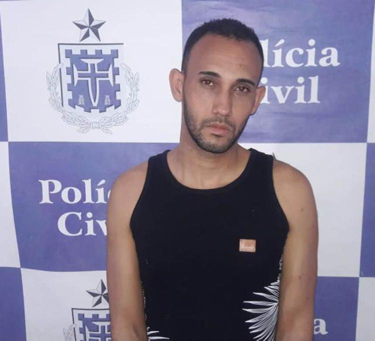Caio Vinícius Alves dos Santos, de 32 anos, era investigado pela polícia desde o ano passado - Foto: Divulgação   Polícia Civil