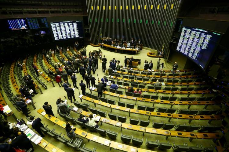 A expectativa na Casa é de que o plenário volte a analisar a reforma no fim da manhã - Foto: Marcelo Camargo   Agência Brasil