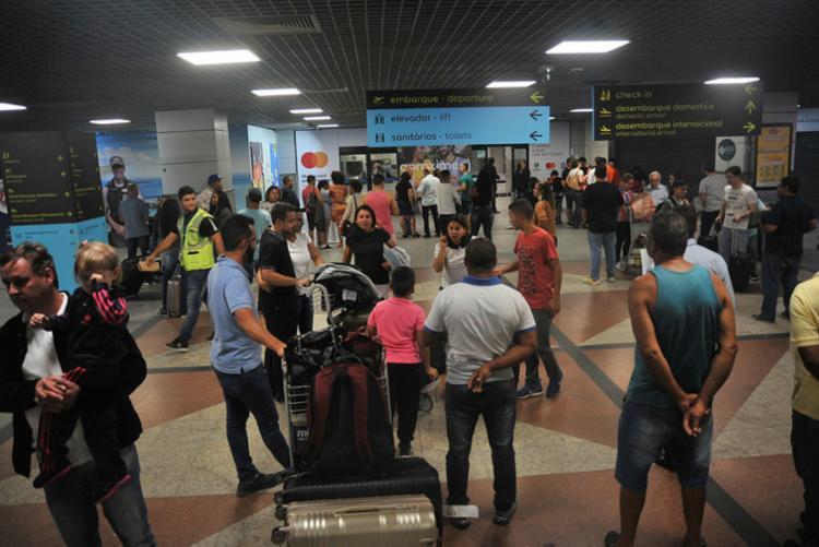 O resultado possui como um dos motivos as novas rotas internacionais implementadas durante o ano - Foto: Felipe Iruatã | Ag. A TARDE