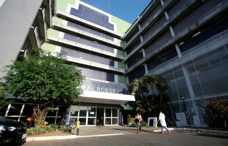 Governador fez vistoria nas obras que estão sendo realizadas na unidade - Foto: Luciano Carcará   Ag. A Tarde