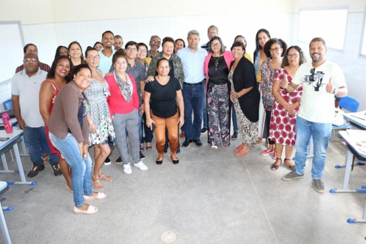 A reunião visa fortalecer o processo de ensino e aprendizagem - Foto: Divulgação