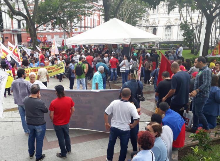 Sindicatos se unem contra Reforma da Previdência - Foto: Luan Borges I Ag. A TARDE