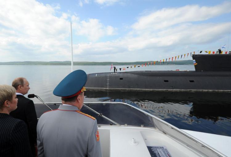 Segundo a imprensa russa, trata-se do AS-12 Losharik, um submarino nuclear de elite, criado em 2010, e capaz de operar em profundidades de até 6 mil metros - Foto: Mikhail Klimentyev l Sputnik l AFP
