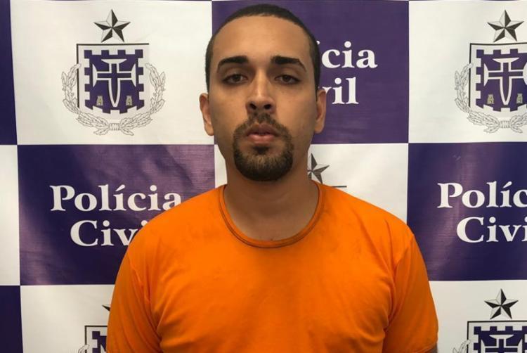 Lucas já havia sido preso em abril deste ano por porte ilegal de armas - Foto: Divulgação   SSP