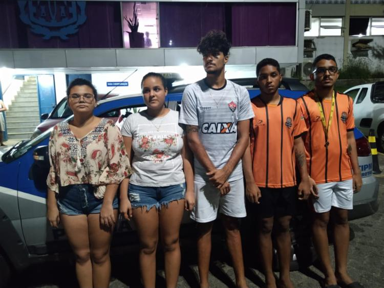 Suspeitos foram localizados após denúncia anônima - Foto: Divulgação | SSP