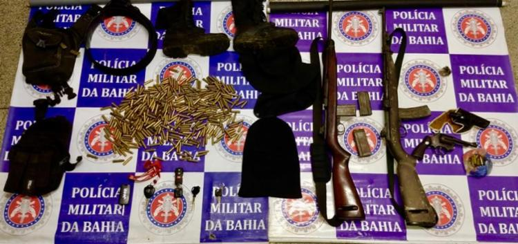 Trio assumiu que praticava assaltos na Bahia e em estados vizinhos - Foto: Divulgação | SSP