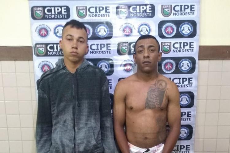 A dupla foi reconhecida por familiares da vítima - Foto: Divulgação | SSP