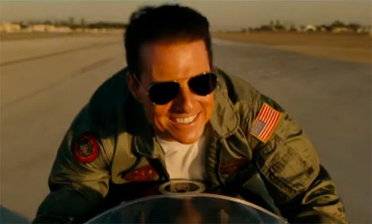 Vivido por Tom Cruise, o capitão Pete Maverick ganha destaque no trailer - Foto: Reprodução | Youtube