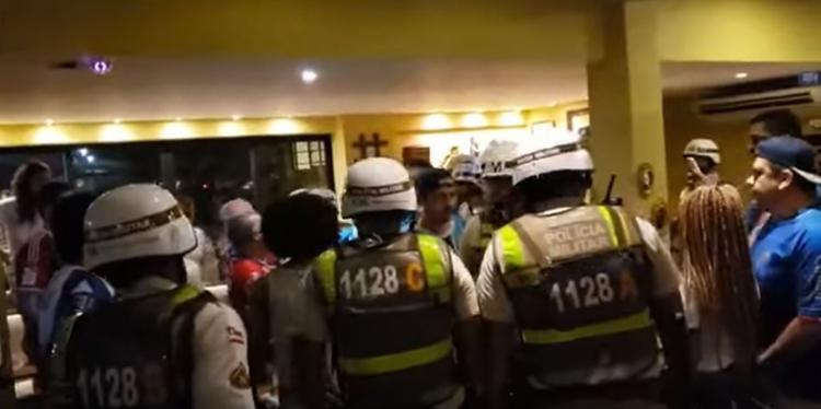 Confusão aconteceu na Cheiro de Pizza, localizada no Dique do Tororó - Foto: Reprodução