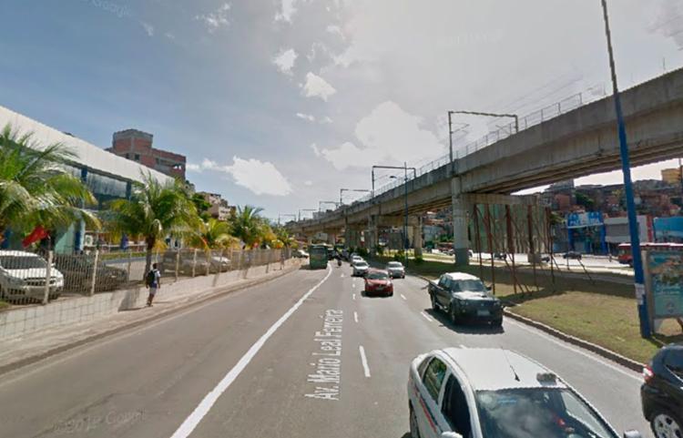 Acidente ocorreu por volta das 14h20 - Foto: Reprodução   Google Maps