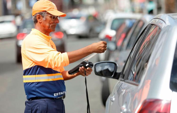 A região do Comércio foi a primeira a receber o novo modelo de pagamento - Foto: Joá Souza | Ag. A TARDE