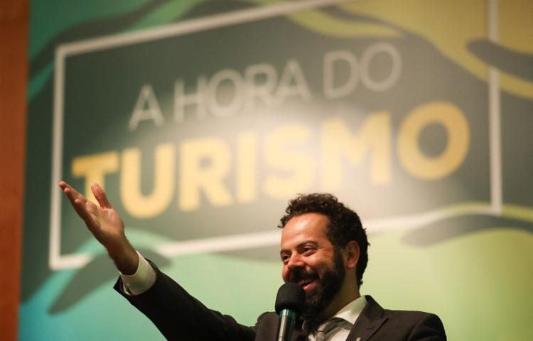 Daniel Nepomuceno, ministro do Turismo interino: