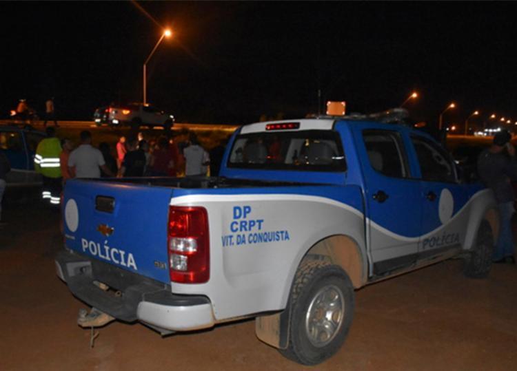 Crime aconteceu às margens da rodovia Santos Dumont, no bairro Lagoa das Flores - Foto: Divulgação | Blog do Anderson