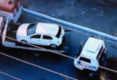 Acidente com carro de passeio deixa um ferido no Acesso Norte | Foto: Reprodução | Record TV