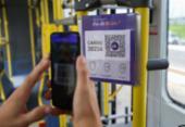 Aplicativo de transporte testado na Semana do Clima dispensa cartões de passagem | Foto: Bruno Concha | Secom