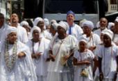 Caminhada Tembwa Ngeemba reúne mais de 400 integrantes de matriz africana | Foto: Adilton Venegeroles | Ag. A TARDE