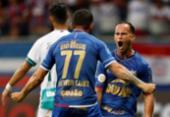 Na raça, Bahia arranca empate com o Goiás | Foto: Raul Spinassé | Ag. A TARDE