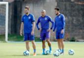 Nino Paraíba treina com bola e deve enfrentar o Goiás | Foto: Felipe Oliveira | EC Bahia