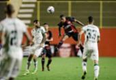 Leão empata com o América-MG e interrompe sequência de triunfos | Foto: Adilton Venegeroles | Ag. A TARDE