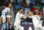 Com golaço de Scarpa, Palmeiras abre vantagem sobre o Grêmio na Libertadores | Foto: Itamar Aguiar l AFP