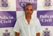 Suspeito de estuprar criança de 8 anos é preso em Pindobaçu | Foto: Divulgação | Polícia Civil
