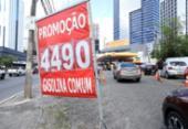Preços da gasolina voltam a sofrer aumento na Bahia | Foto: Uendel Galter l Ag. A TARDE