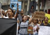 Grupo protesta em Salvador contra desmatamento da Amazônia | Foto: Raul Spinassé | Ag. A TARDE