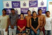 Sete pessoas são presas por tráfico de drogas em Senhor do Bonfim | Foto: Divulgação | Polícia Civil