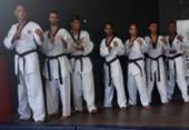 Atletas de taekwondo do Vitória sobem ao pódio no Brasileiro | Foto: Divulgação | EC Vitória