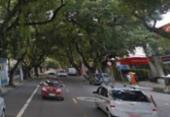 Uma pessoa fica ferida após ser atropelada no Corredor da Vitória | Foto: Reprodução I Google Street View