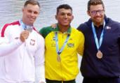 Isaquias Queiroz conquista ouro no C1 1000m no Mundial | Divulgação l CBCa