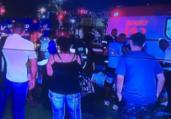 Colisão entre ônibus deixa feridos na Av. Vasco da Gama | Reprodução | Rede Record