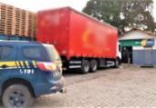 PRF frustra roubo de carga avaliada em R$ 740 mil | Divulgação | PRF