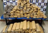 Mais de 100 kg de maconha são apreendidos em Conquista | Divulgação | PRF