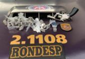Arma e drogas são apreendidas na Boca do Rio | Divulgação | PRF