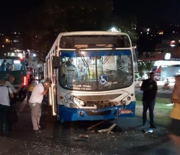 Equipes da Samu foram mobilizadas para prestar atendimento aos feridos - Foto: Cidadão Repórter I Via WhatsApp