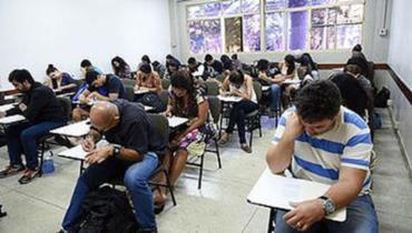 Mais de 1,1 milhão de estudantes fizeram o exame no último domingo - Foto: Divulgação l MEC